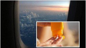 Vì sao nên bôi kem chống nắng khi đi máy bay?